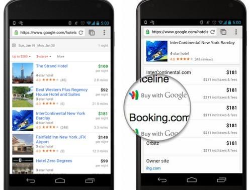 谷歌:深切旅游,推出手机版Hotel Finder