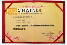 布丁:荣获2013杭州市人才发展最佳企业奖