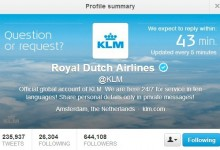 社会化媒体:荷兰航空KLM舆情管理再发力