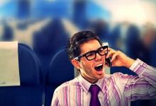中国:对民航舱内乘客使用移动电话仍有争议