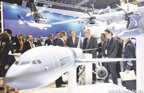 新加坡:航空展第一日交易额超过六亿新元