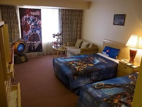 北海道:变形金刚主题酒店,受众清晰精准