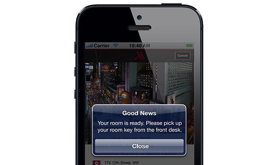 智慧酒店:万豪推忠诚会员智能手机退房服务