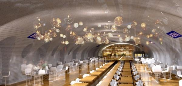 创意开发:巴黎废弃地铁站变为旅游景点