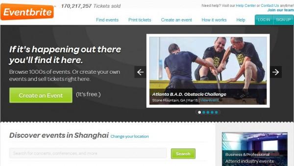 Eventbrite:美国在线票务网站获5000万融资
