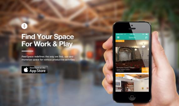 PeerSpace:分享经济 将闲置办公区租出去