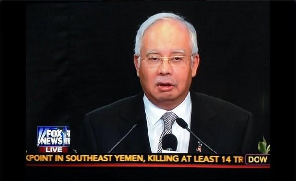 "MH370:马来西亚声明 未使用""坠毁""一词"