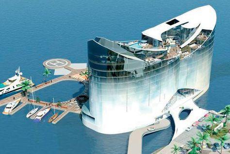 漂浮酒店:解决用地紧张的岛国大型节事难题