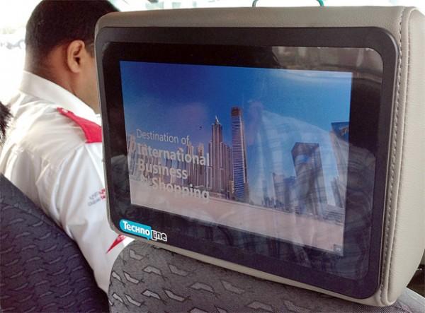 迪拜:机场出租车提供Wi-Fi和智能值机服务