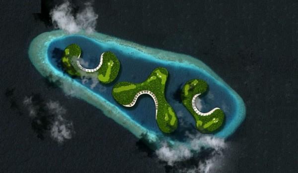 解读:世界首个漂浮高尔夫球场落户马尔代夫
