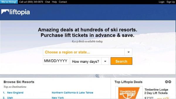 Liftopia:美版智慧旅游 用大数据管理滑雪场