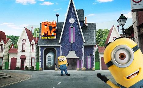 神偷奶爸:好莱坞环球影城主题乐园掘金市场