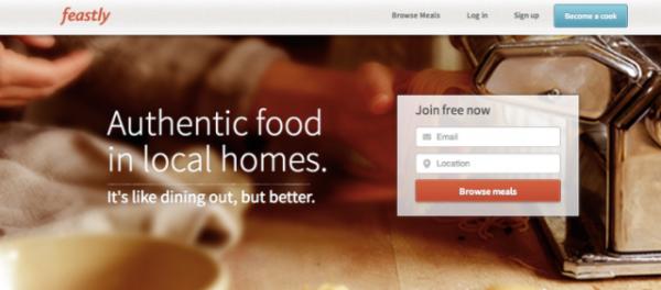 Feastly:大厨分享,要成为餐饮市场的Airbnb