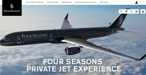 四季:向高端用户开启四季号航班定制旅行