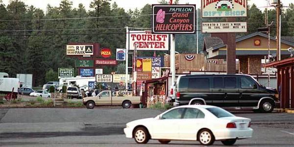 美国大峡谷:小镇更名 希冀增加旅游影响