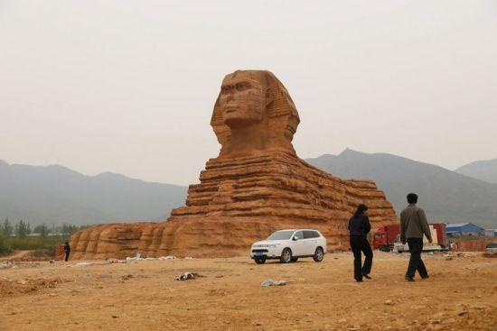 BBC:中国将拆除狮身人面像,山寨精神仍在