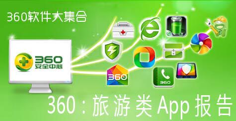 360:发布旅游APP报告 携程下载胜去哪儿