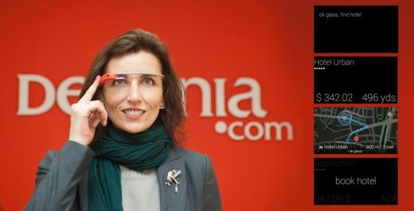 Hotel Near Me: 首款酒店预订谷歌眼镜应用