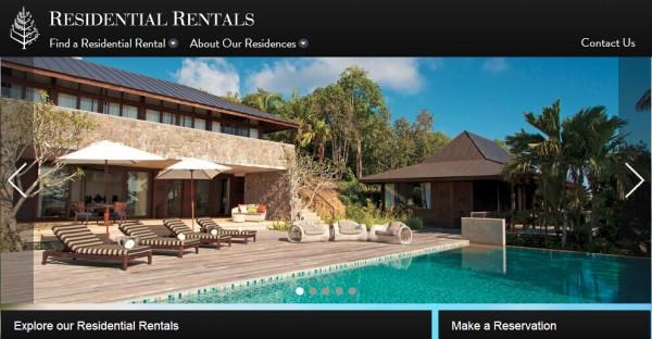 四季:进入品牌度假租赁领域 上线新网站