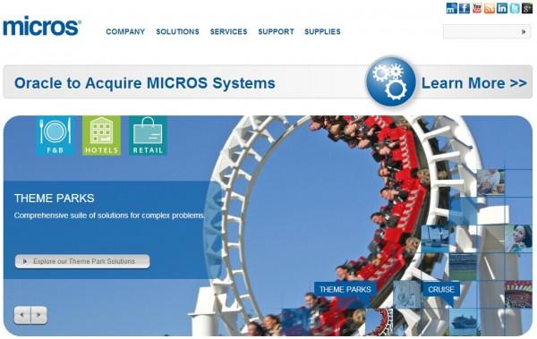 Oracle:53亿美金收购酒店和餐厅软件Micros