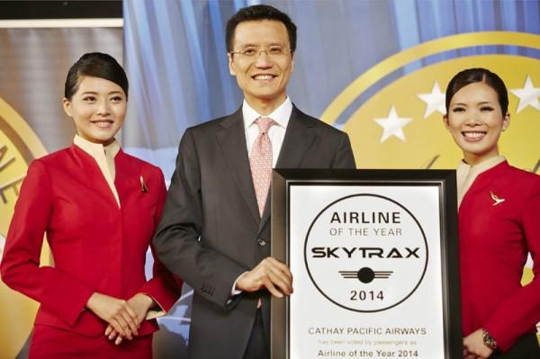 Skytrax:2014全球最佳航空公司排名新出炉
