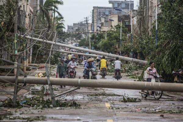 海南:遭威马逊重创,旅游业损失13.8亿元