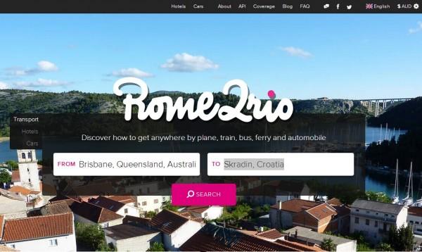 Rome2Rio:旅行计划类工具再获110万融资