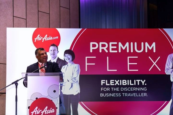 亚航:Premium Flex常飞客,服务商务旅客