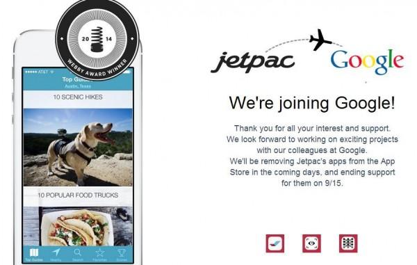 谷歌:收购社交图片旅行指南创业公司Jetpac