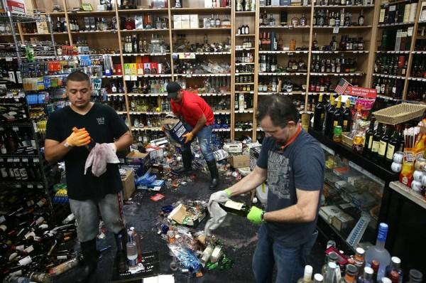 纳帕谷:地震影响多家酒庄 损失触目惊心