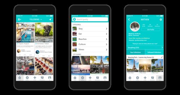 Spottly:筹募85万美元打造旅游视频指南App