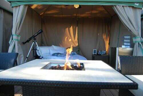帐篷房:博眼球 酒店迎十一五星酒店拼奇招