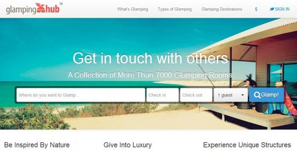 Glamping Hub:帐篷预订平台获100万美元A轮