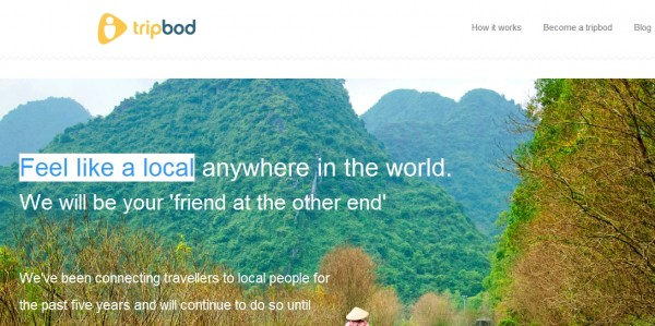 Tripbod:Feel like a local,像当地人在旅游