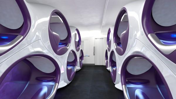 机舱座椅:3D蜂巢设计新鲜出炉颠覆传统模式