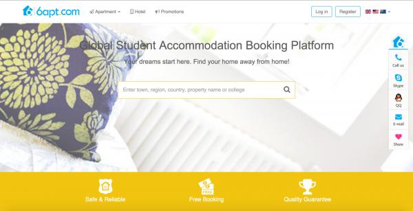 """6apt:留学生租房网站,要成为海外""""自如"""""""