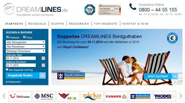 邮轮门户:Dreamlines获得2500万美金融资