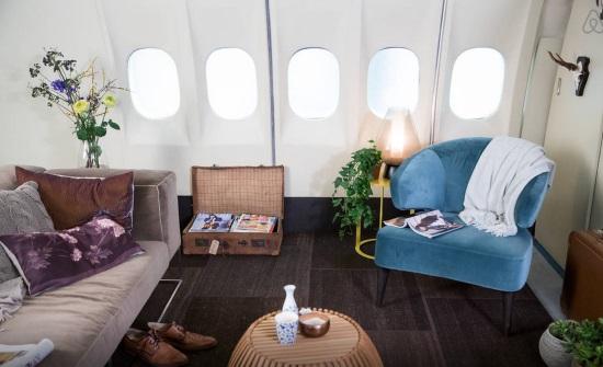 跨界:荷兰皇家航空与Airbnb联推真飞机公寓