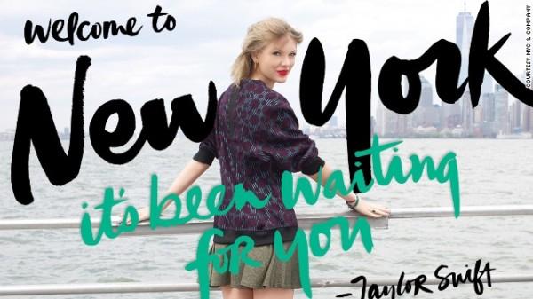 Taylor Swift:任纽约全球形象大使再引争议