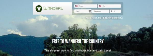 Wanderu:大巴火车元搜索,融资560万美元
