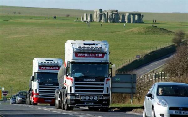 巨石阵:英国新建隧道 为遗产成功降噪污染