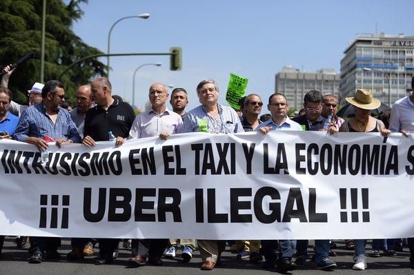 Uber:再起波澜 西班牙运营遭禁、停止支付