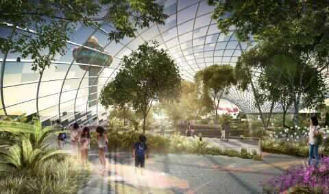 新加坡:启动Jewel樟宜机场建设 震撼航空界