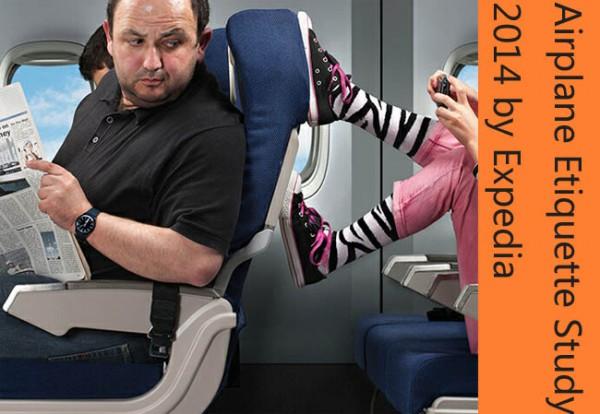 图表:航空礼仪调查报告揭露18宗最讨厌行为