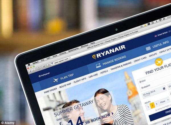 瑞安航空:牵手Booking.com 提供5万可选酒店