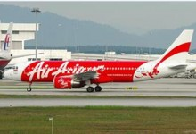 亚航:12月28日,一架飞往新加坡的客机失联