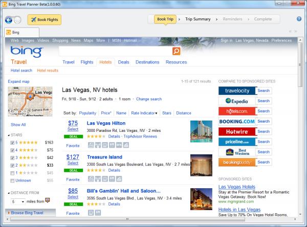 微软:中止必应旅游品牌 转向MSN旅游业务