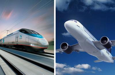 两部门:航企自定与高铁成竞争的航线机票票价