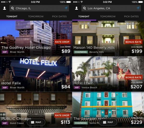 HotelTonight:发布基于地理位置定价新工具