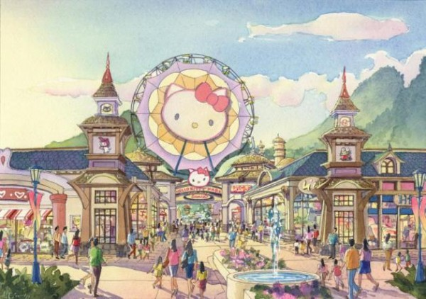安吉:全球最大Hello Kitty Park试营业调查